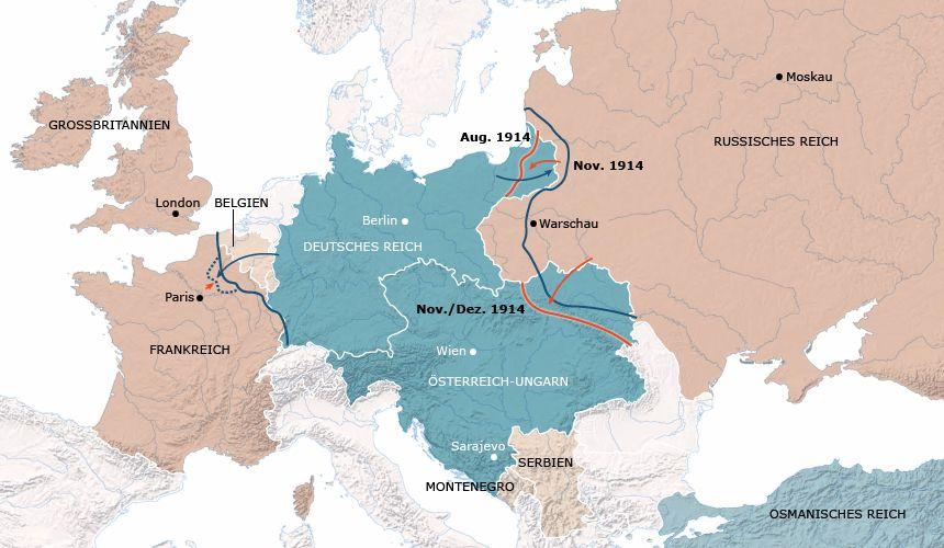 Sehenswert Eine Interaktive Karte Zum Verlauf Des Ersten