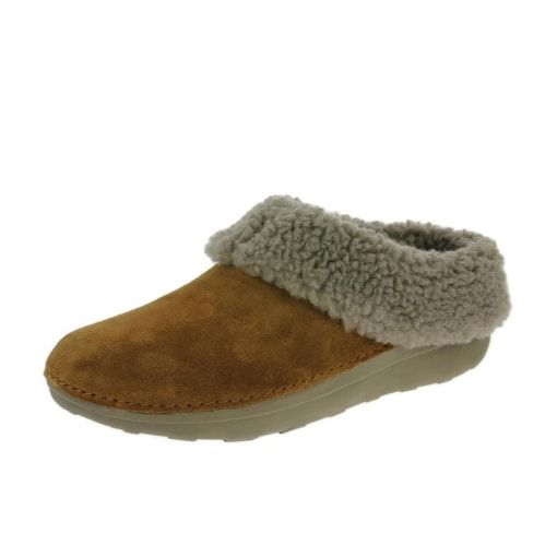 569d546f1565 FitFlop™ Loaff™ Snug Slippers Chestnut