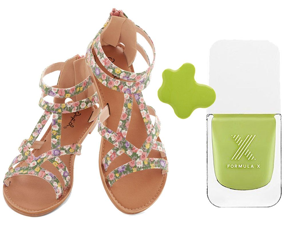 Old Navy + Sally Hansen from Spring 2014 Sandals & Nail Polish Combos   E! Online