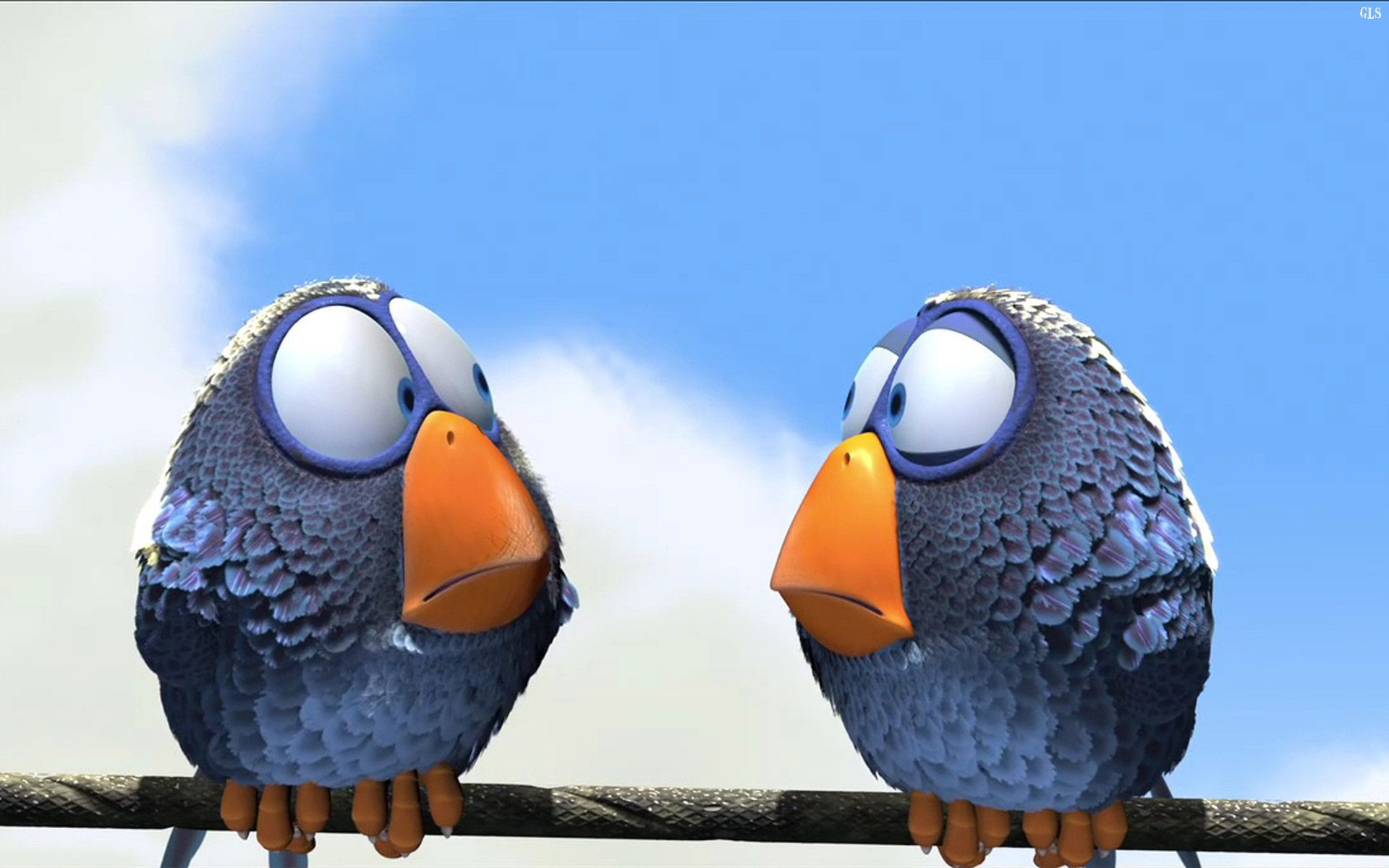 Twin Birds Wallpaper Free With Images Pixar Shorts Short Film Pixar