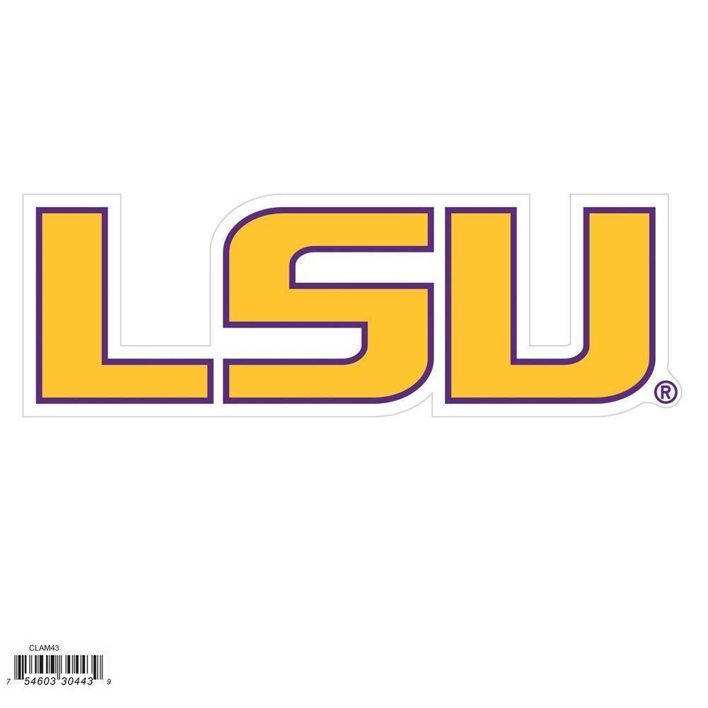 NCAA LSU Tigers 8 inch Logo in 2020 Lsu, Ncaa