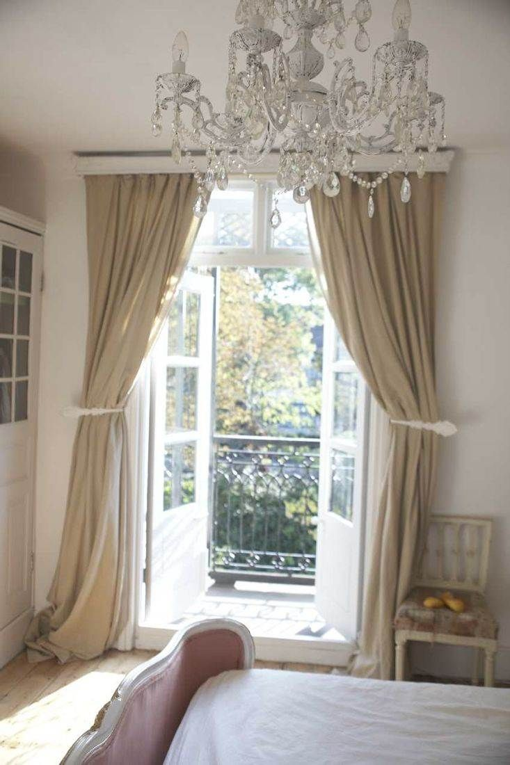 French Curtains Style - Home garden un cottage pr s de londres french doors bedroomfrench door curtainsbedroom