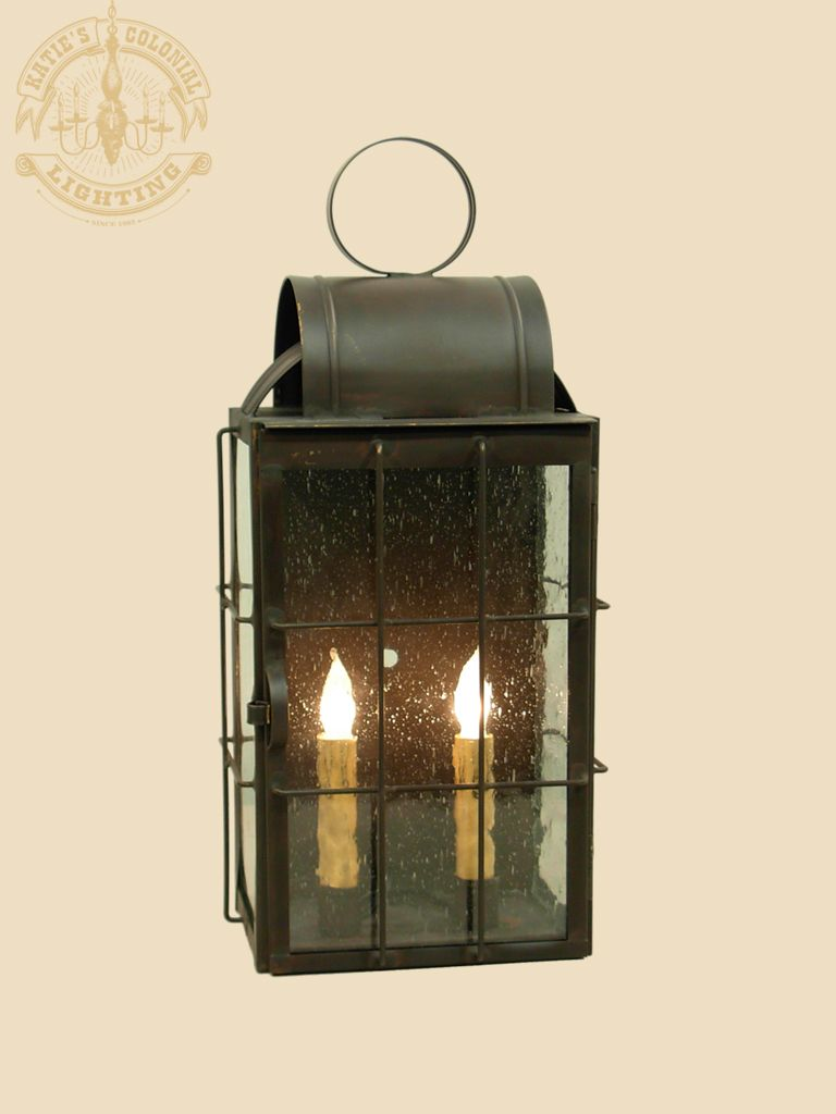 Danbury Primitive Colonial Outdoor Lights Katie S