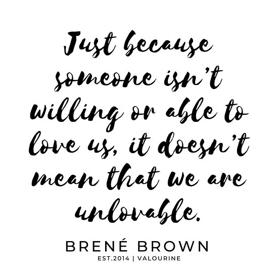 21   Brene  Brown Quotes    190806       Poster by QuotesGalore