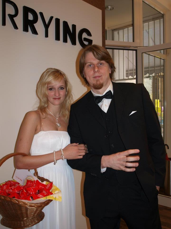 Unser Brautpaar bei MARRYING Bielefeld!