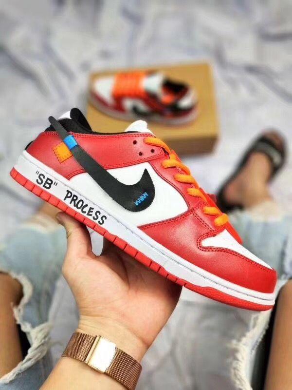 f5b706b06cb6f6 NIKE DUNK SB x Off-white Air Jordan Sneakers