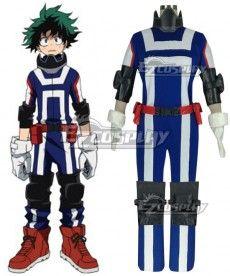 7a413e06 My Hero Academia Boku no Hero Akademia Izuku Midoriya Deku Sportswear Cosplay  Costume