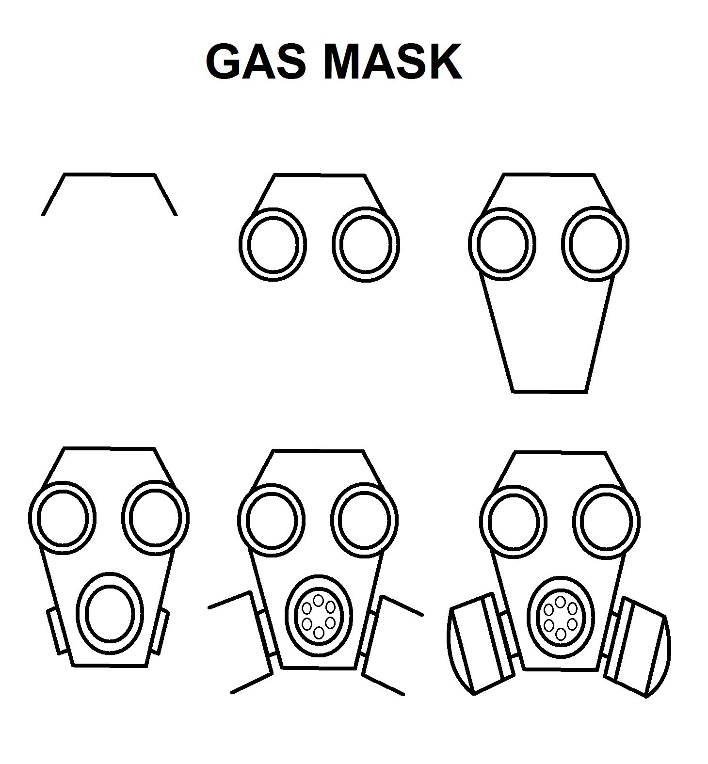 Gas Mask Gas Mask Drawing Gas Mask Gas Mask Art