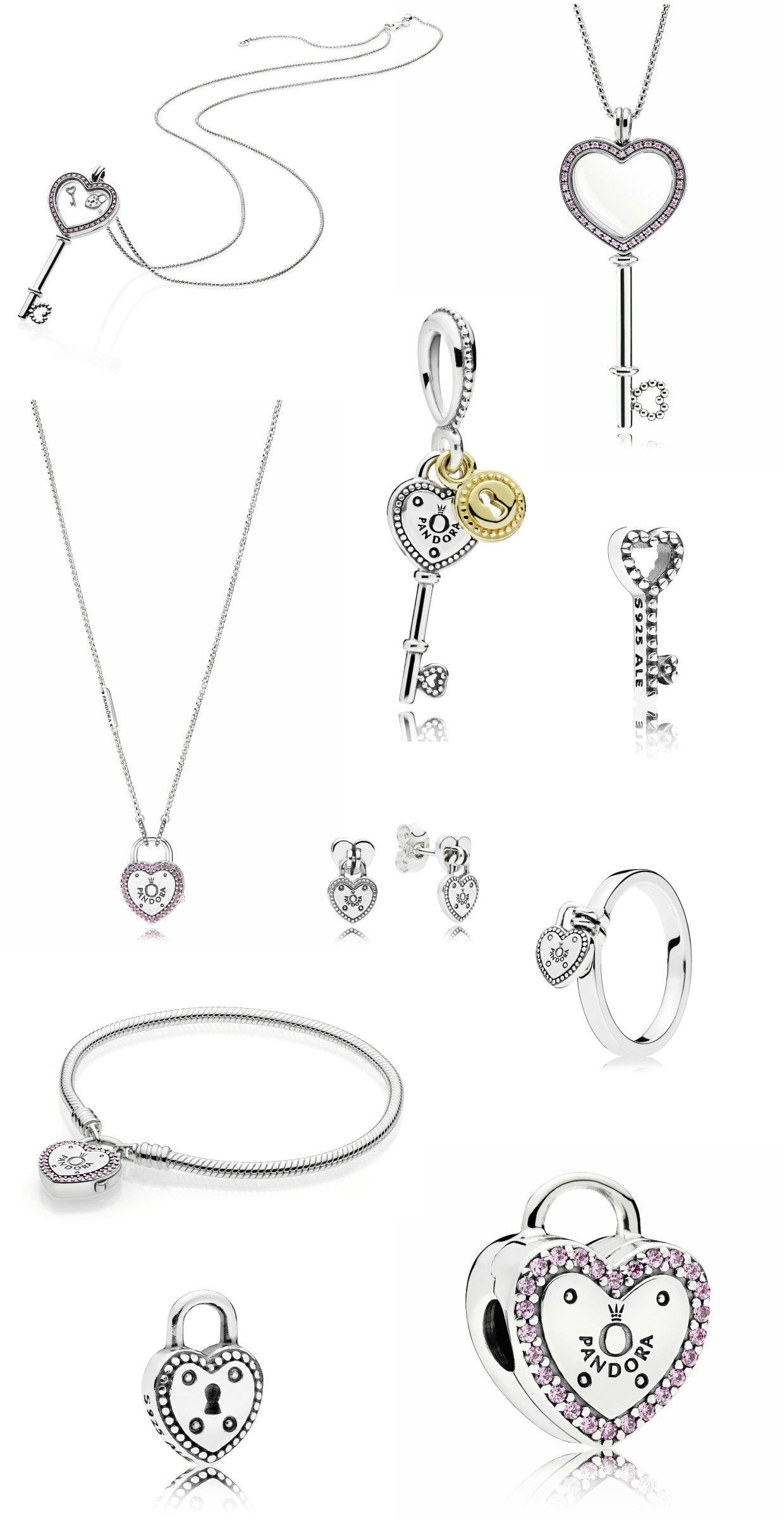 5456da5686949 Coleção cápsula Promessas de Amor da Pandora  pandora  acessorios  ring   bracelet  necklace  heart  collection