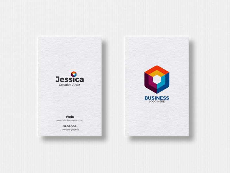 Free 2 vertical business cards mockup 2018 vertical business cards free 2 vertical business cards mockup 2018 reheart Image collections
