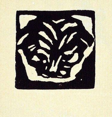Bohuslav Reynek - Hlava kočky I., 1920