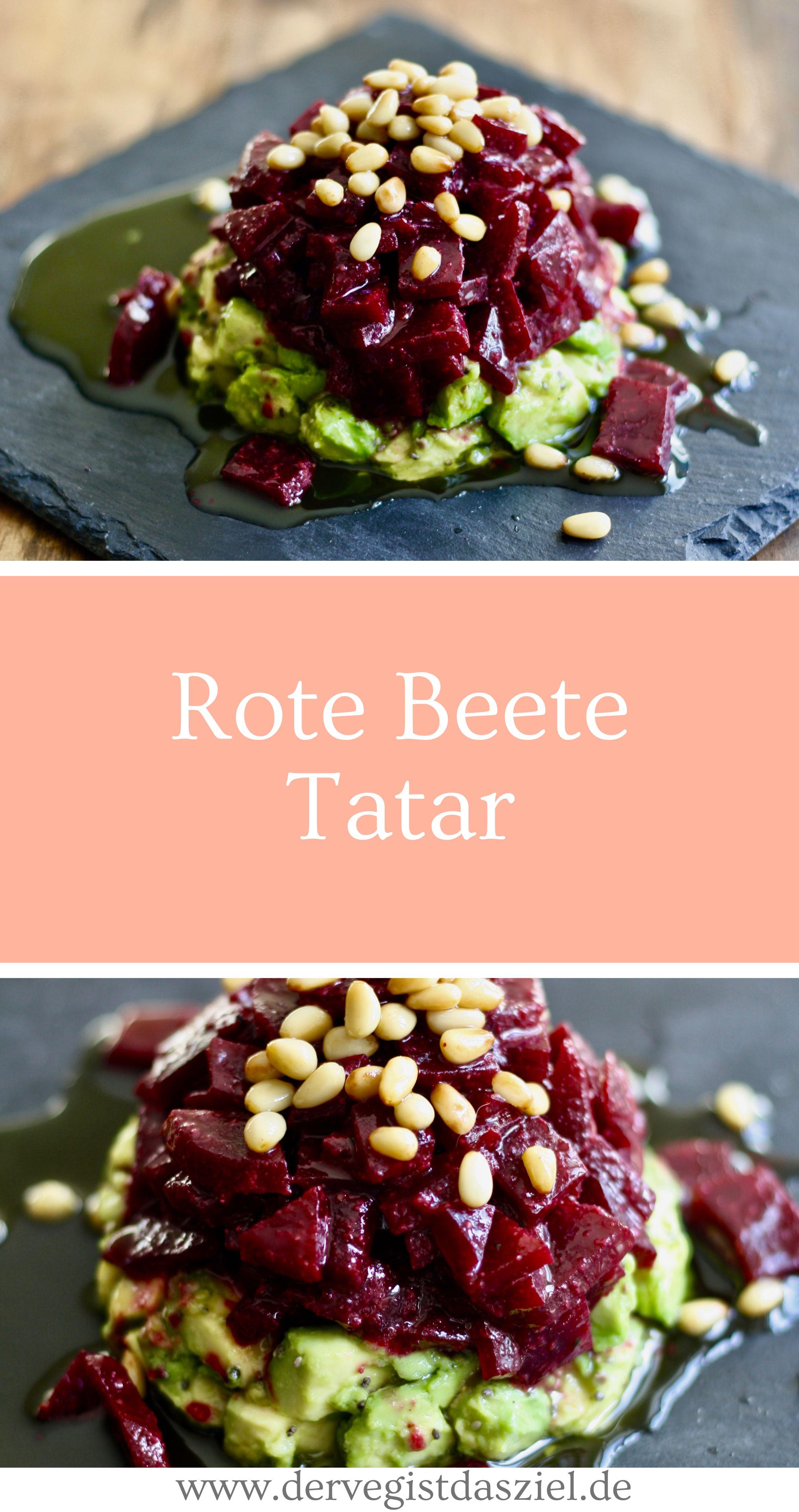 Rote Beete Tatar