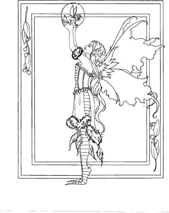 Amy Brown coloring book | Fairy coloring pages, Fairy ...