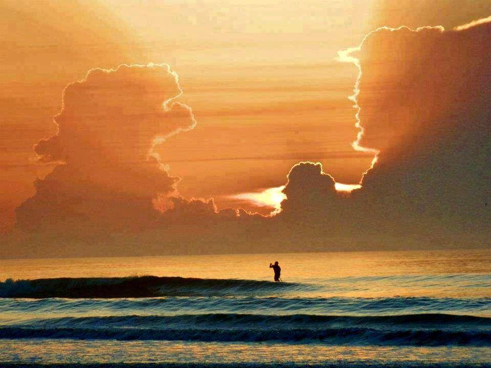 Spectacular sunrise near inlet reef club beachfront