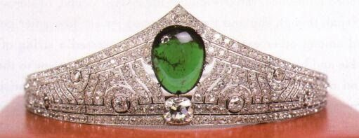Tiara de Chaumet - Casa Gran Ducal de Luxemburgo