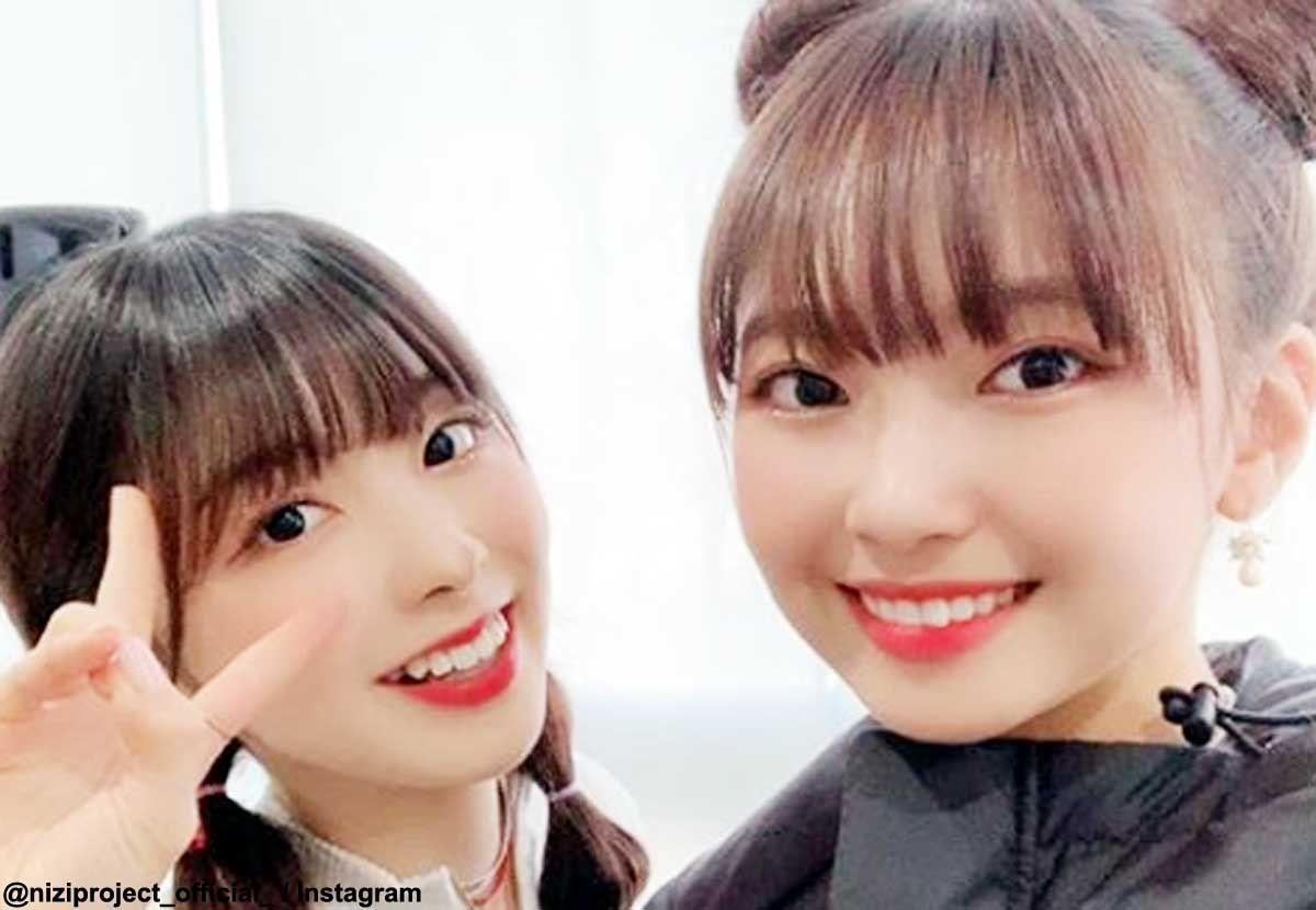 Nizi Project」ミイヒ(左)、マユカ【2020】   Jypエンターテインメント, Twice サナ, スランプ