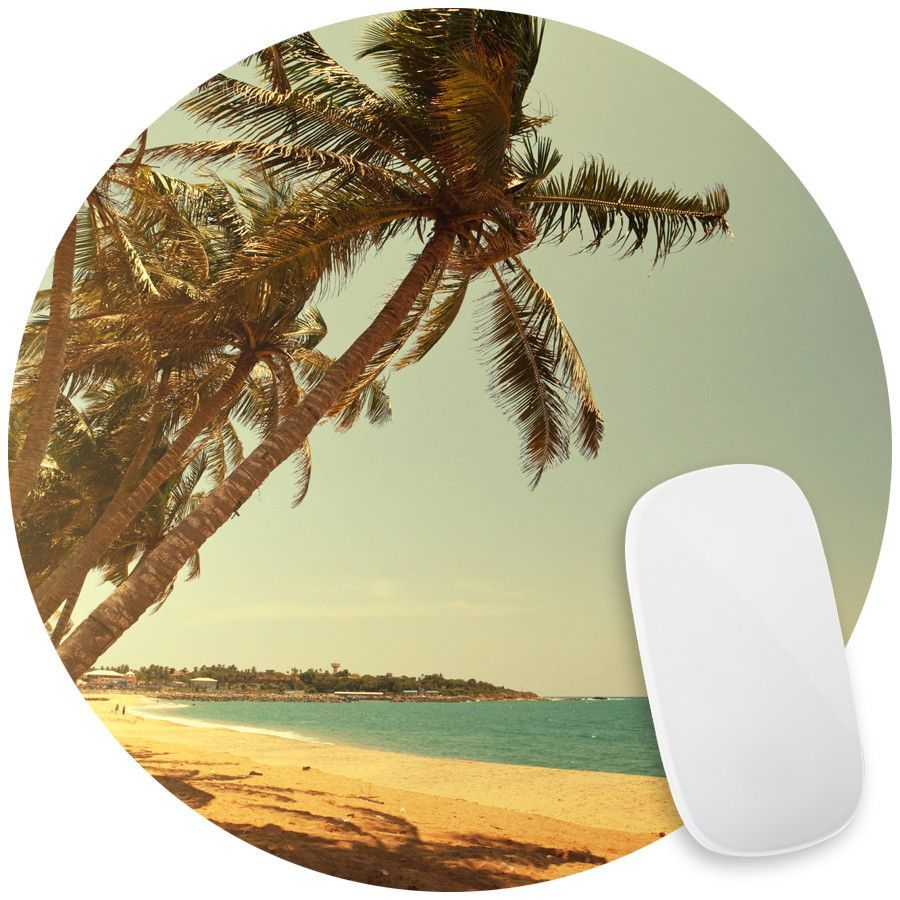 Serenity Beach Mouse Pad Decal