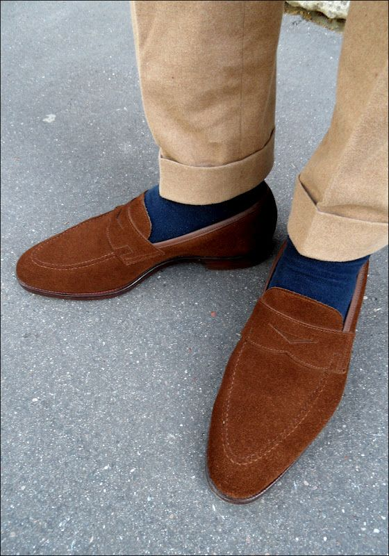 1893a6fc22b rust brown suede loafers