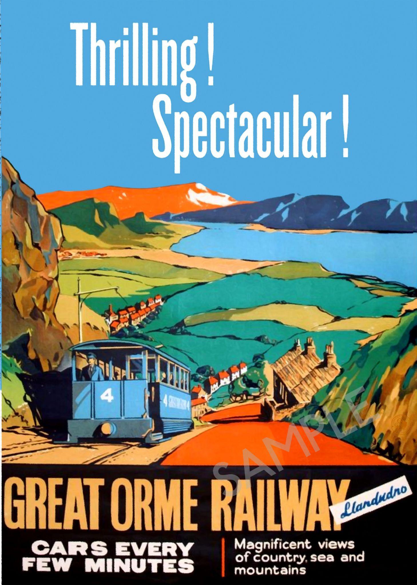 Great Orme Railway, Llandudno - North Wales #northwales