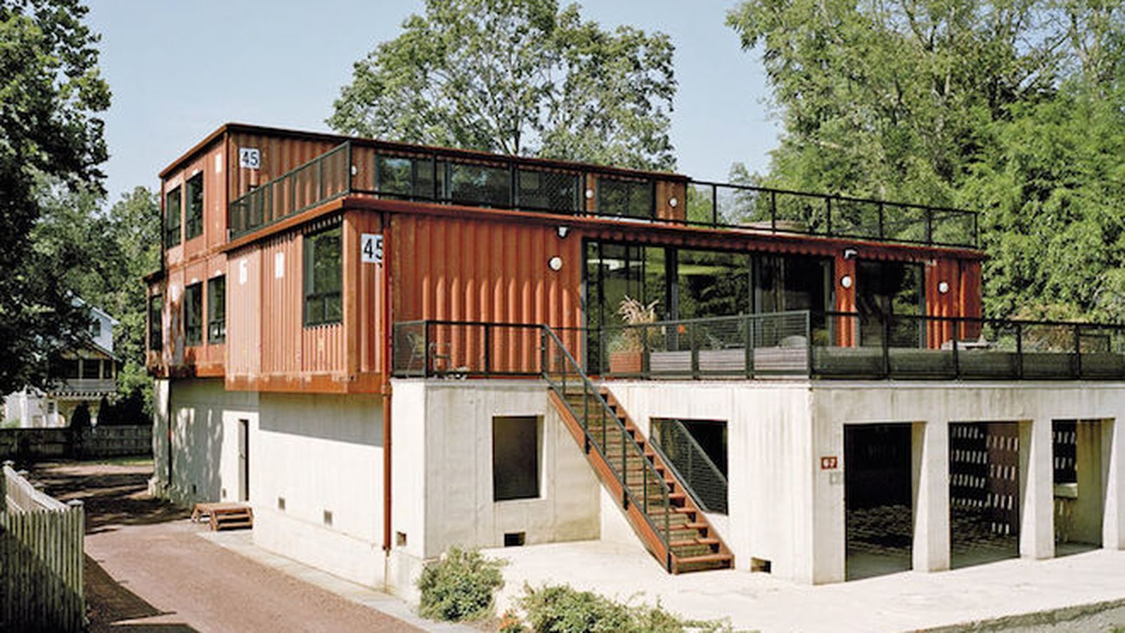 Homes Made From Shipping Containers   Pesquisa Google Part 82