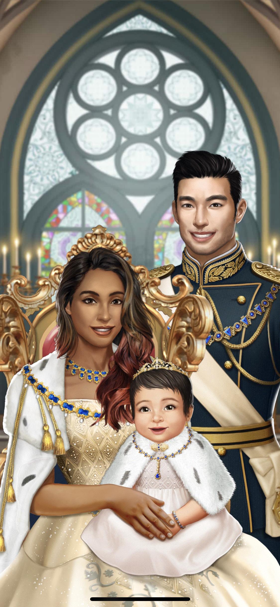 Family Photo! King Liam, Queen Lea & Crown Princess