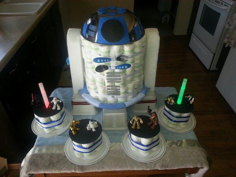 Star Wars Diaper Cake Personal Creation Diaper Cakes