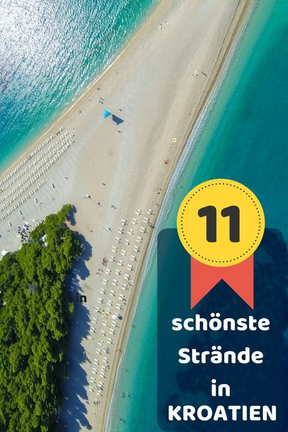 Photo of The 11 most beautiful beaches in Croatia – the ultimate beach guide