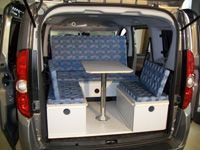 c tech campingvan minicamper fiat doblo neu opel. Black Bedroom Furniture Sets. Home Design Ideas