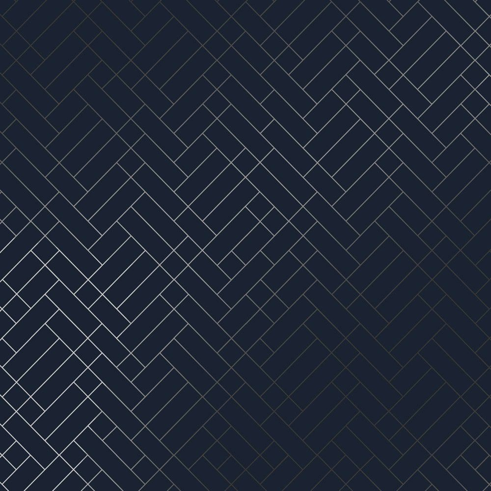 Navy blue and silver wallpaper Navy wallpaper, Silver