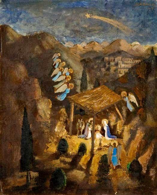 Nativity, Fulvio Penacchi, 1947