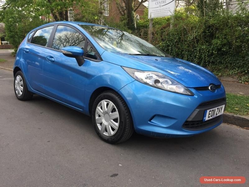 Car For Sale 2011 Ford Fiesta Econetic 1 6 Tdci 95 Bhp 5 Dr