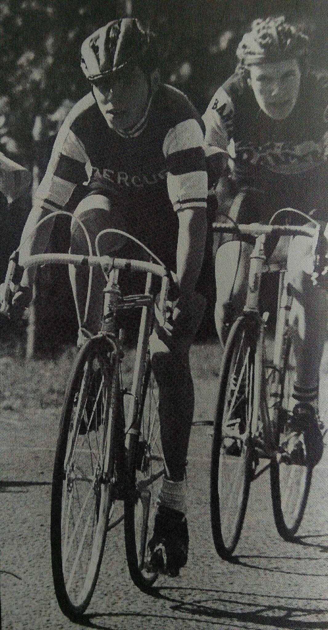 Joey McLoughlin racing as a schoolboy.  9091f2e00