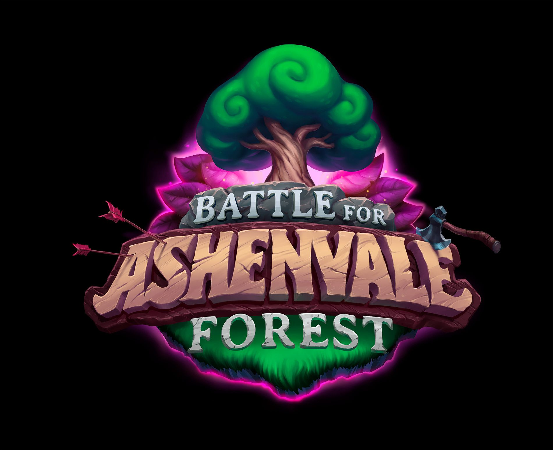 Artstation Hearthstone Battle For Ashenvale Forest Logo Arthur Tavares Forest Logo Game Logo Design Fantasy Logo Just choose a template and customize away to download a professional logo for your streaming channel! pinterest