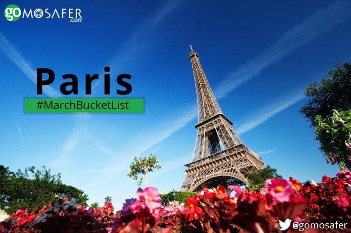 The City of love- Paris!