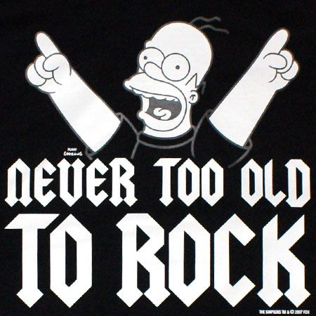 rock and roll quotes when is a band too old to rock rock