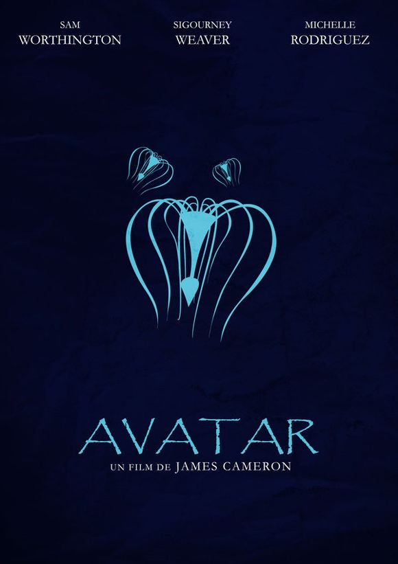 40 minimally redesigned movie posters avatar movie and