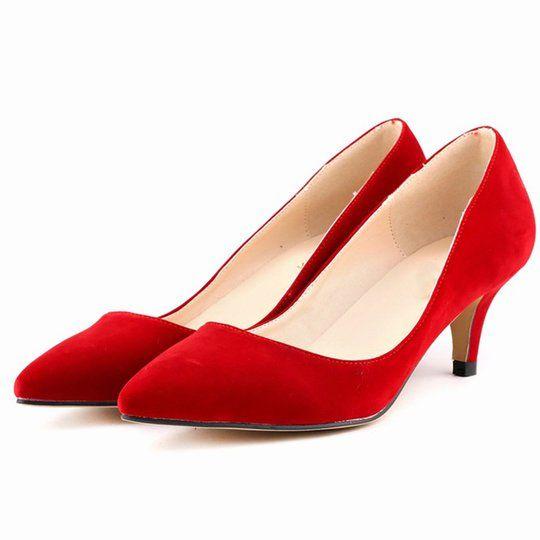 pump shoes, Womens low heels
