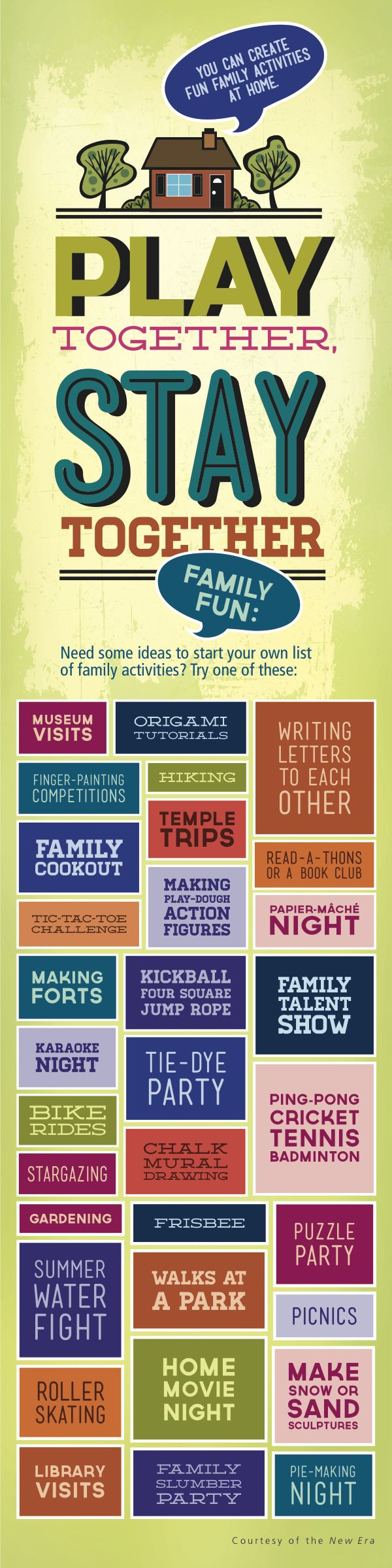 Looking For Fun Creative Family Activities Check Out These Ideas From The New Era
