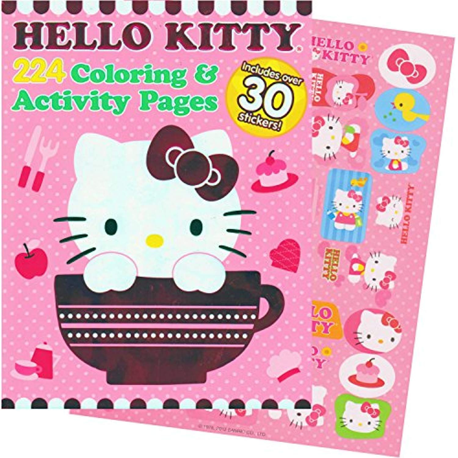 Hello Kitty Coloring And Activity Book With Stickers 224 Pages Click Image To Review More Details This Hello Kitty Coloring Hello Kitty Color Activities