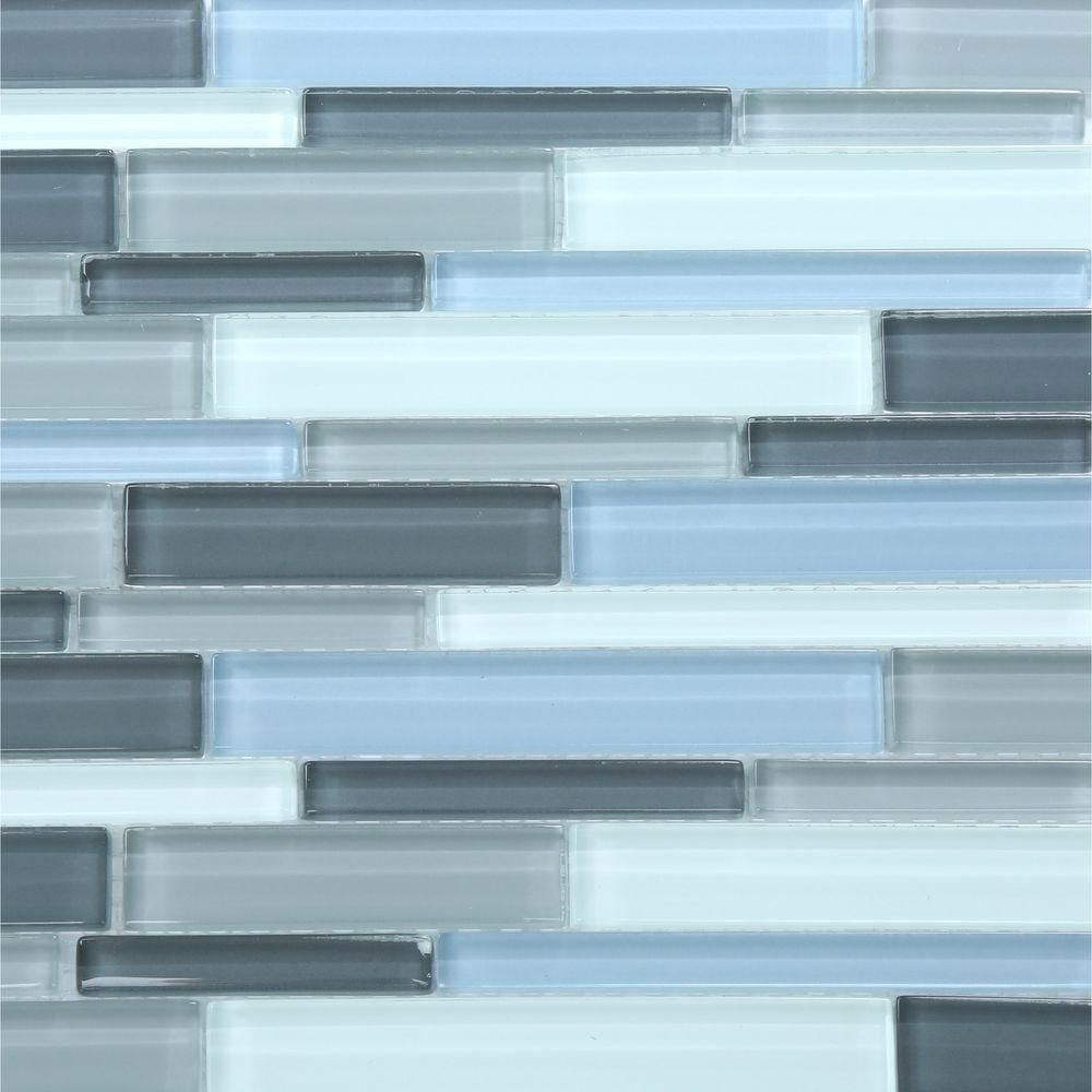 Decorative Pencil Tile Unique Jeffrey Court Stratosphere Blue Pencil 12375 Inx 12875 Inx 8 Design Inspiration