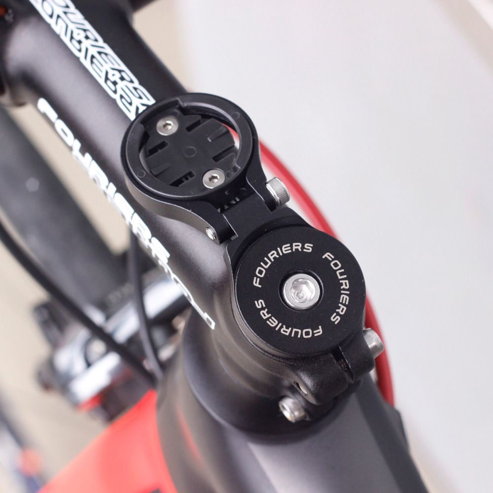 MTB Road Bike Computer Holder Stem Top Cap Stopwatch GPS Speedometer CNC Mount