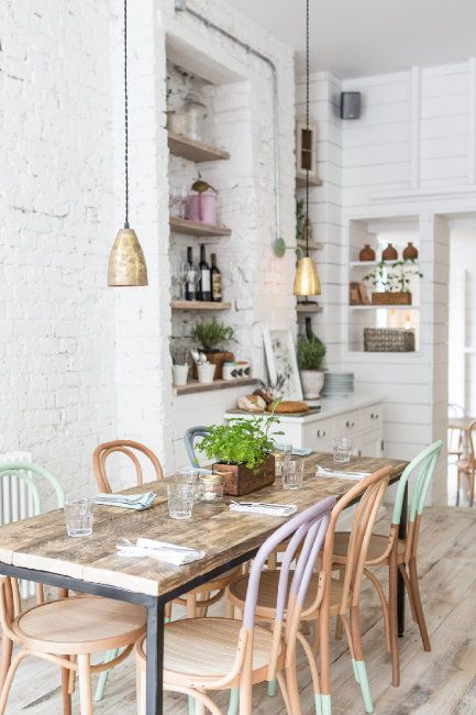 A Californian Beach House Inspired Hangout In London Decoholic Cafe Interior Home Home Decor