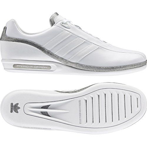 sneakers for cheap 9a713 816a3 New Mens Adidas Original Porsche Design SP1 White Lace Trainers Shoes Size  6-13