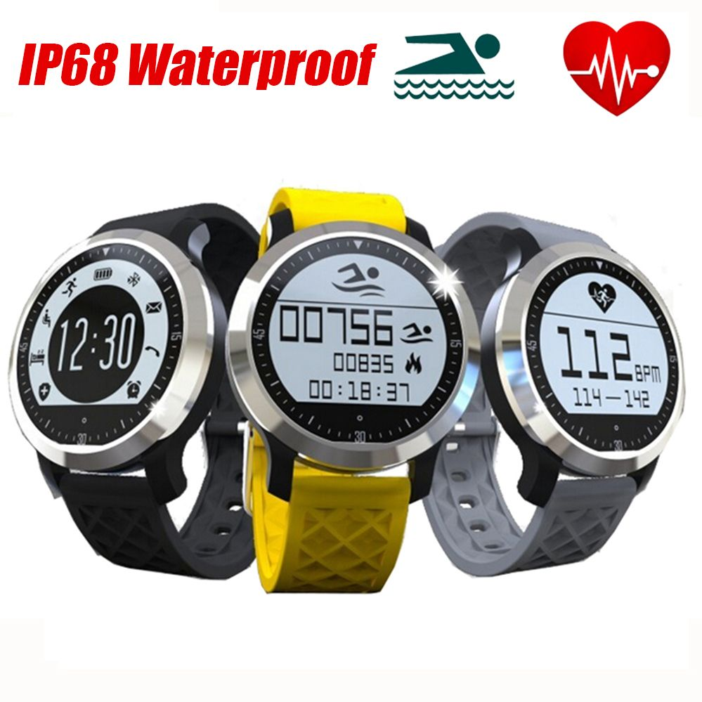 Neue IP68 Wasserdichte Intelligente Uhr F69 Fitness Tracker Pulsmesser Smart Armband Für IOS Android Sport Smartwatch //Price: $US $59.99 & FREE Shipping //     #smartwatches