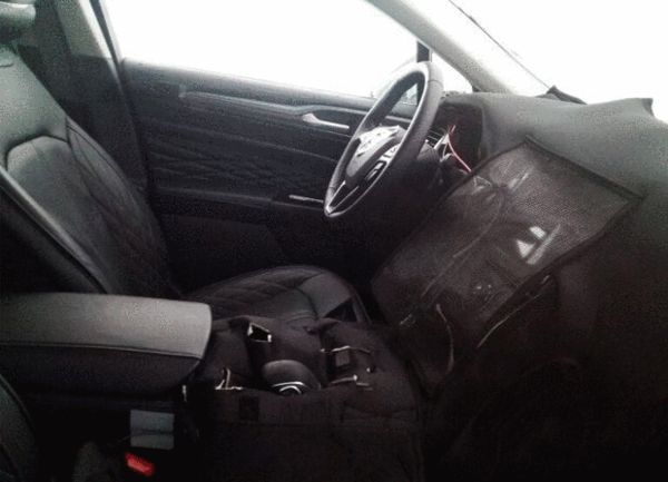 Nice Ford Interior Of The New Mondeo Fusion Spied Cars Daily Updated