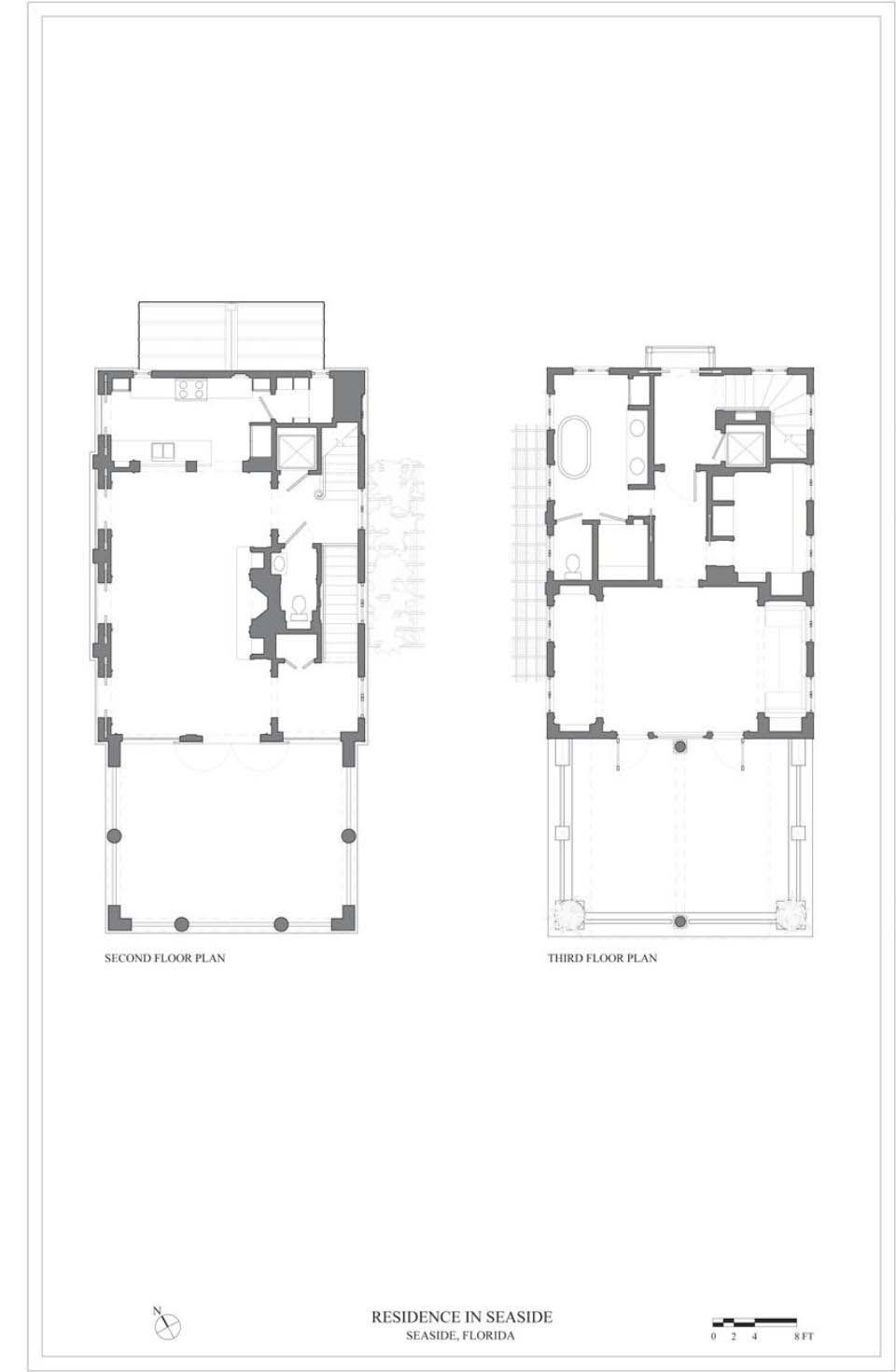 Very Charming Seaside Escape Overlooking The Ocean In Florida Luxury House Plans Beach House Design Floor Plan Layout
