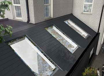 In Plane Roof Window For Pitched Roofs Pitchglaze Roof