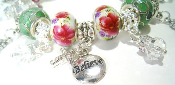 Lead Me to the Cross Pandora Charm Bracelet by BrankletsNBling, $35.00