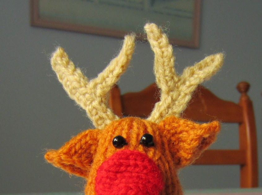 Reindeerknitted Knit Christmas Xmas Rex A Craft Blog About Tea