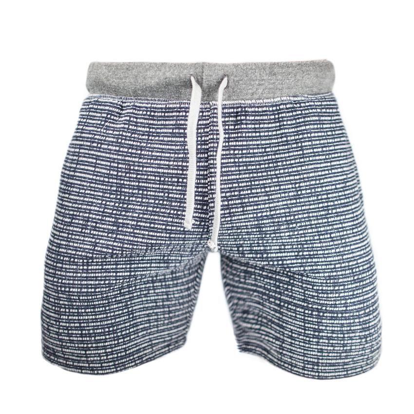 Comfortable Mens Sweat Shorts Grey /& Navy